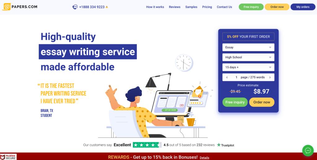 Google essay writing services